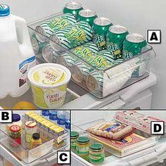 Refrigerator Organizer Trays