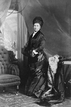 Princess Louise, Duchess of Argyll. Canada, late 1870s.