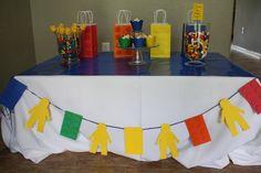 Homemade Lego Party