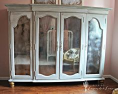 Seeking Lavender Lane: Restoring a Hutch to a Bedroom Armoire