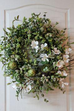 .spring wreath