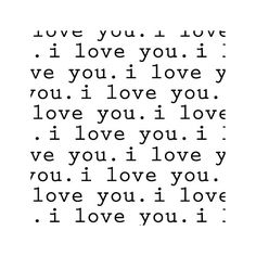 Avalisa Imagination - 'I Love You' Stretched Wall Art | AllModern