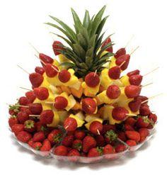 Arranging Fruit to make it look fabulous!
