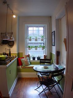 Kitchen Gallery: Living Plants in the Kitchen