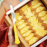 pineapple cake, snack cake, pineappl ginger, ginger pineappl, pineappl cake