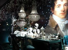 Paris Christmas decor   Engaged in Paris: Christmas window decorations in Paris