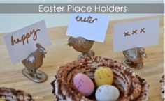 Easter Name Holders