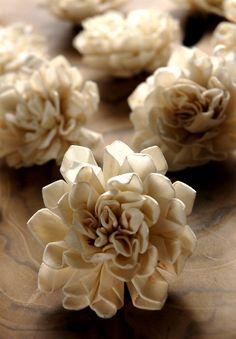 """Folded Sola Flowers (2.25"""" wide)"""