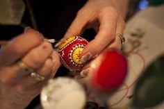 Sorbian women craft ornate Easter eggs tradit sorbian, ornat easter, gorgeous easter, craft ornat, sorbian women, sorbian motiv, sorbian egg, egg paint, easter eggs