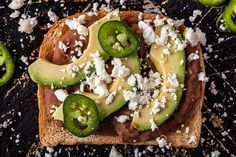 Toast Topping Ideas for Creative Appetizers and Snacks : theBERRY