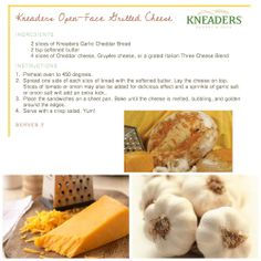 Kneaders Open-Faced Grilled Cheese. #Kneaders