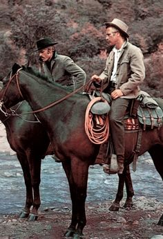 Robert Redford & Paul Newman in Butch Cassidy and the Sundance Kid
