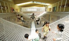 Yuyu-no-mori Nursery School and Day Nursery, Yokohama, Japan