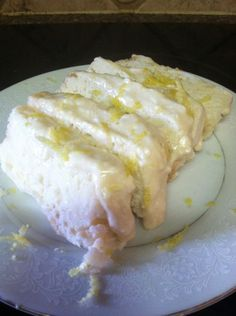 My own THM approved version of Starbucks Lemon Cake-(MIM)