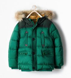 Zara puffer jackets for kids - cool colors, great prices