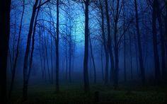 así es el azul de la noche de hoy!