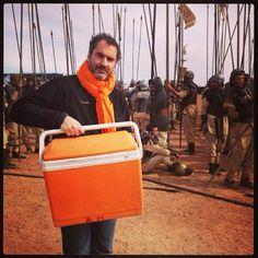 Exclusif Backstage : Un Réalisateur qui aime #orange #xaviergiannoli Livebox Play - janvier 2013 - Tournage du film de Xavier Giannoli #liveboxplay #coulisses #tournage #pub #behindthescenes #instagram
