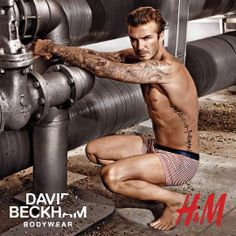 Want to see a teaser of David Beckham's H&M Super Bowl Ad before it airs? Look no further, and find a BTS video as well as campaign photos right here.