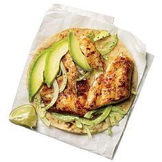 11 Fish Taco Recipes | Blackened Tilapia Baja Tacos | CookingLight.com