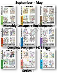 This is an Early Learning PreK Program Package which includes September - May Program Lesson Plans and Teaching Materials.   1478 Pages    Plan out your learning environment for the fall and grab this incredible offer while its available at this low price