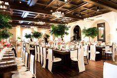 Centerpieces perfect for a tropical beach wedding!