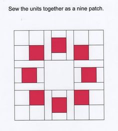 9 patch Circle of Squares