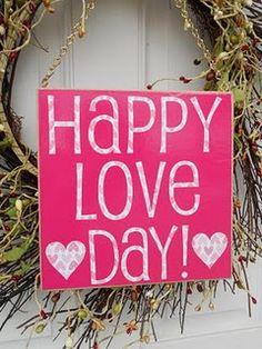 Happy Love Day!
