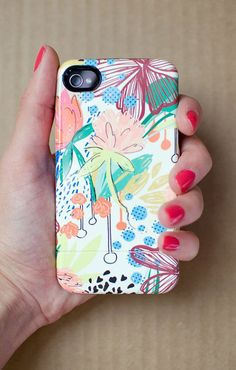 iPhone accessories HONDURAS tropical floral by khristianahowell