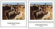 Homes Around the World homeschool geographi, hs geographi, montessori geographi, build studi, contin box, social studi