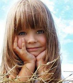 Little Girl Haircuts With Bangs.
