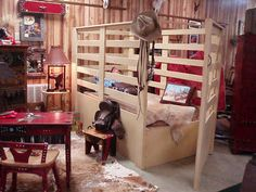 Bull Chute Bed. OMG MY KID WILL HAVE THIS :)