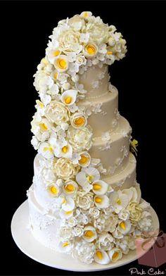 Ugly Wedding Cakes On Pinterest