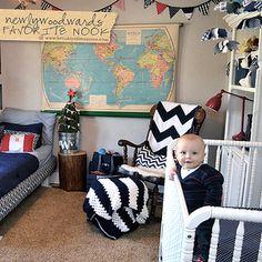 babi max, babi lawrenc, baby boys, shared rooms, world maps, babi boy, babi stuff, baby boy nurseries, big boy rooms