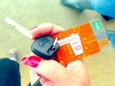 Now even more portable: The Mini Starbucks Card.