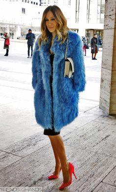 Sarah Jessica Parker..she's an icon..love her style..