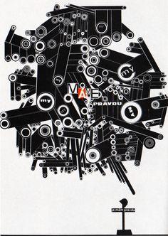 1960s Advertising - Poster - Anti war poster (Czechoslovakia)