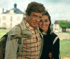 Audrey Hepburn and Albert Finney in Two for the Road (1967)