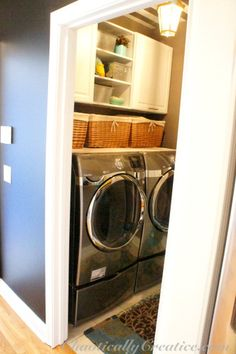 Fun and Fresh Laundry room