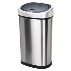 I pinned this Alain Motion Sensor Trash Can from the Kitchen Essentials Under $50 event at Joss and Main!