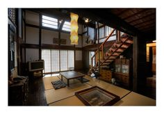Traditional Japanese home interior.