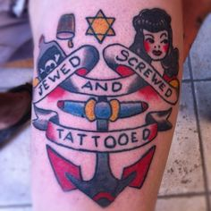 jewed screwed and tattooed