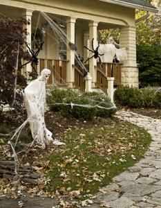Haunted house ideas on pinterest haunted houses for Haunted house scene ideas