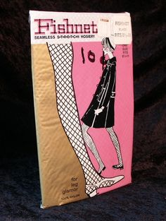 Fishnet stockings in the 1960's, oh yes, we were that cool.