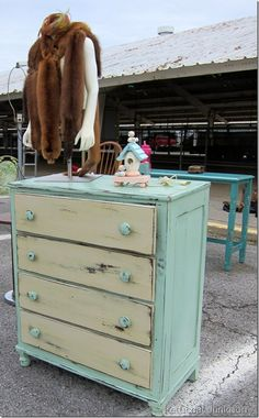 two toned painted furniture - Google Search