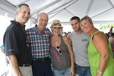 Doug Diamond, Bill Caulkins and family at the Sherman + Reilly 85th Anniversary Celebration.