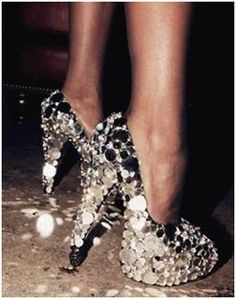take the party with you everywhere you go with mega sparkly shoes <3