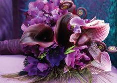 Love the variety of purples.