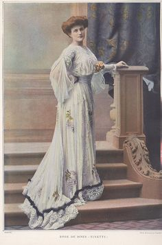 Paquin gown, 1902