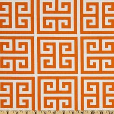 Premier Prints Twill Towers Sherbet Orange