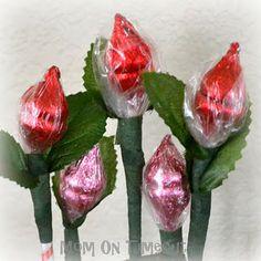 Hershey's Kiss Roses